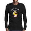 Minion Despicable Me Assassin Make My Day Punk Mens Funny Mens Long Sleeve T-Shirt