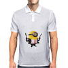 Minion Despicable Me Assassin Make My Day Punk Mens Funny Mens Polo