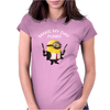 Minion Despicable Me Assassin Make My Day Punk Mens Funny Womens Fitted T-Shirt