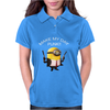 Minion Despicable Me Assassin Make My Day Punk Mens Funny Womens Polo