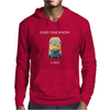 Minion Despicable Me Everyone Knows A Dave Mens Funny Mens Hoodie