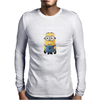 Minion Despicable Me Everyone Knows A Dave Mens Funny Mens Long Sleeve T-Shirt