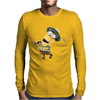 Minion Dispicable Me Golfer Mens Long Sleeve T-Shirt