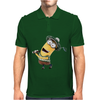Minion Dispicable Me Golfer Mens Polo