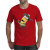 Minion Dispicable Me Golfer Mens T-Shirt