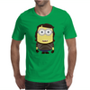 MINION FAMILY - STRIPED MINION Mens T-Shirt