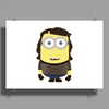 MINION FAMILY - STRIPED MINION Poster Print (Landscape)