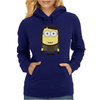 MINION FAMILY - STRIPED MINION Womens Hoodie