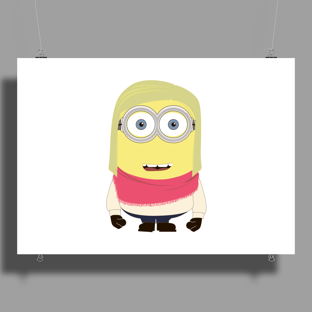 MINION FAMILY - The Girl Poster Print (Landscape)