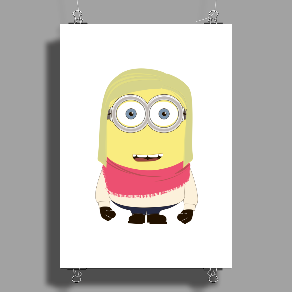 MINION FAMILY - The Girl Poster Print (Portrait)