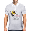Minion Hitman despicable me Mens Polo