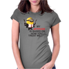 Minion Hitman despicable me Womens Fitted T-Shirt