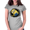 Minion Hole - Mens Funny Minions Womens Fitted T-Shirt