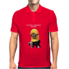 Minion I'm Not A Morning Minion Dispicable Me Womens Funny Mens Polo