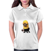 Minion I'm Not A Morning Minion Dispicable Me Womens Funny Womens Polo