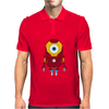 Minion Iron Man Funny Mens Polo