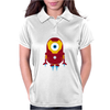 Minion Iron Man Funny Womens Polo