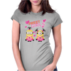 Minion ladies Women Womens Fitted T-Shirt