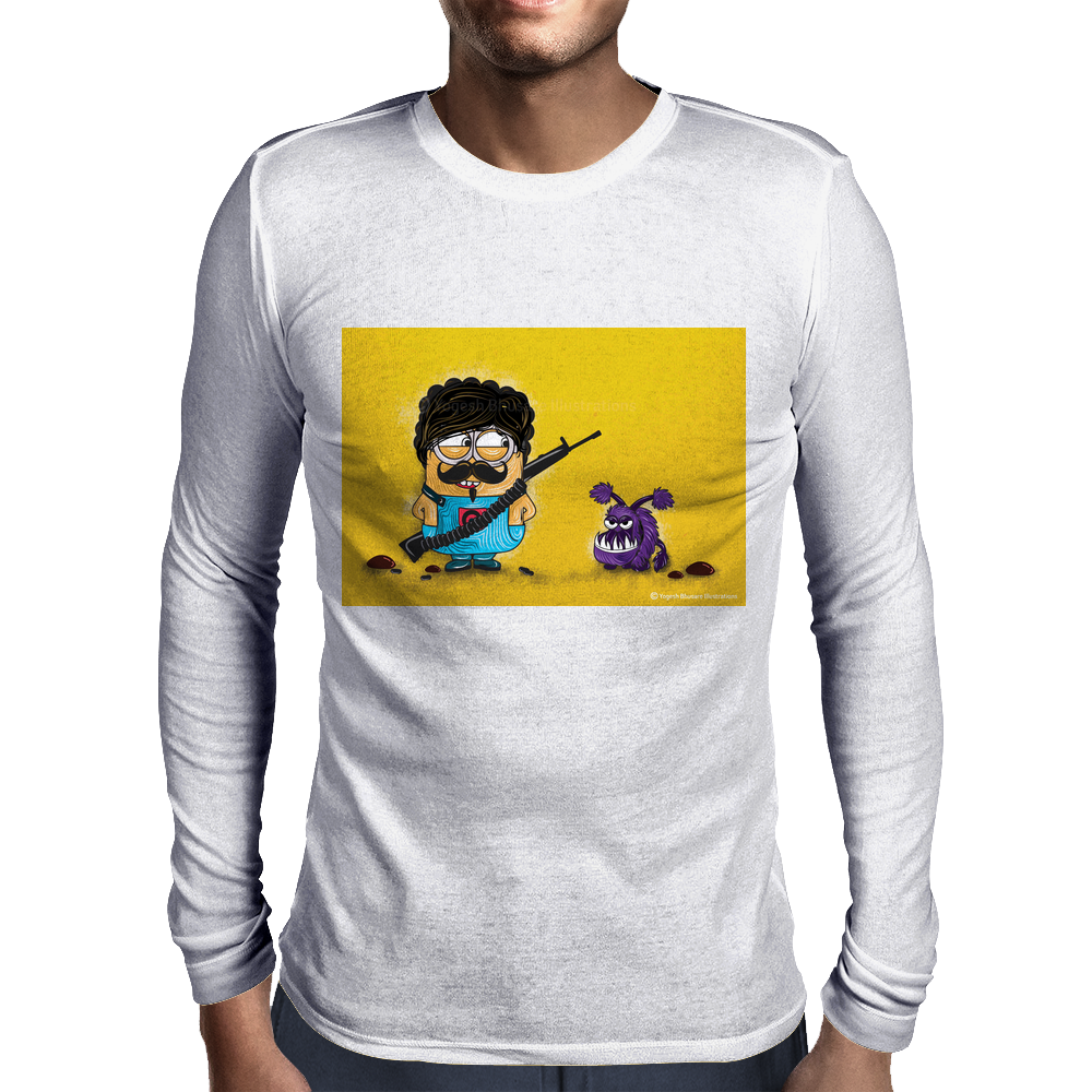 Minion Mens Long Sleeve T-Shirt