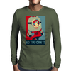 Minion Obama Mens Long Sleeve T-Shirt
