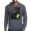 Minion Planet Moon Mens Hoodie