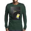 Minion Planet Moon Mens Long Sleeve T-Shirt