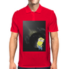 MINION PLANET MOON Mens Polo