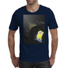 Minion Planet Moon Mens T-Shirt