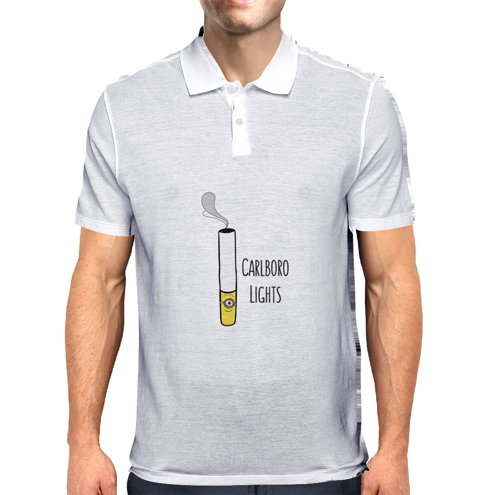 Minion Smoker Pun Mens Polo
