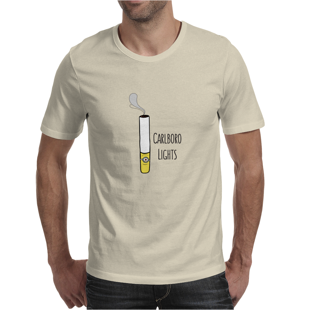 Minion Smoker Pun Mens T-Shirt