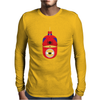 Minion Spiderman Funny Mens Long Sleeve T-Shirt