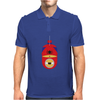 Minion Spiderman Funny Mens Polo