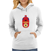 Minion Spiderman Funny Womens Hoodie