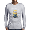 Minion WHAAAA Mens Long Sleeve T-Shirt