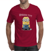 Minion WHAAAA Mens T-Shirt