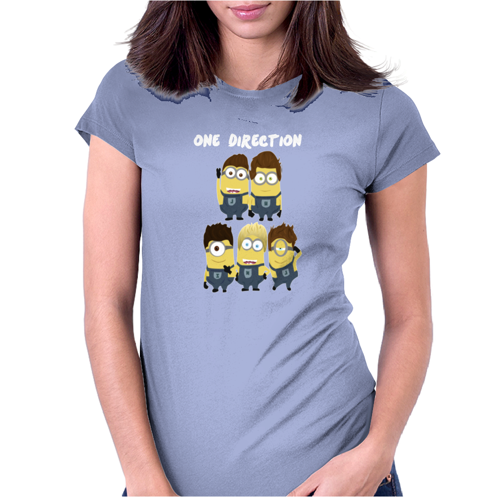 Minions Despicable Me 2015 New Cute 1D Zayn Men Women Unisex Womens Fitted T-Shirt