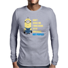 Minions Despicable Me 2015 New Cute Mens Long Sleeve T-Shirt