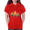 Minions Despicable Me 2015 New I'm Stupid Women Unisex Womens Polo