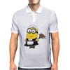 Minions Despicable Me 2015 New maid Funny Women Unisex Mens Polo