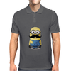 Minions Despicable Me 2015 New Moustache Women Unisex Mens Polo