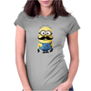 Minions Despicable Me 2015 New Moustache Women Unisex Womens Fitted T-Shirt