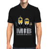 Minions in Black - MIB Mens Polo