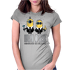 Minions in Black - MIB Womens Fitted T-Shirt