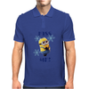 Minions Kiss me Girlie Mens Polo