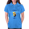 Minions Kiss me Girlie Womens Polo