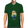 MINIONS Pick me Despicable Me 2 Gru Agnes Banana Gru's Minion Face Funny Mens Polo