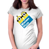 Minions Pizza Womens Fitted T-Shirt