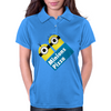 Minions Pizza Womens Polo