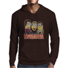 MINIONS T-shirt SUPERNATURAL Dave The Minion detective cartoon character funny Mens Hoodie