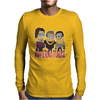MINIONS T-shirt SUPERNATURAL Dave The Minion detective cartoon character funny Mens Long Sleeve T-Shirt